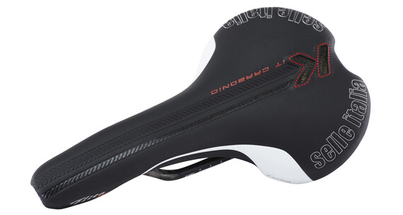 Selle Italia Flite Kit Carbonio Sadel sort